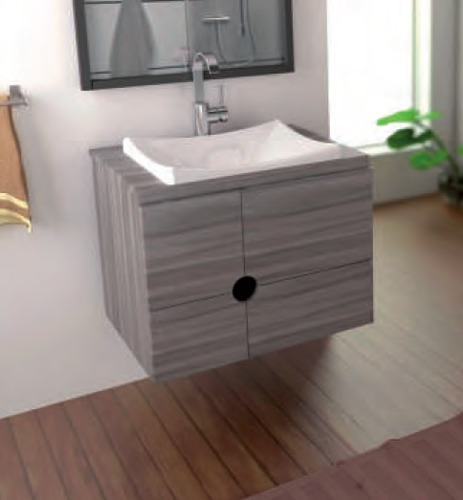 Lavamanos tipo vessel gurza materiales y acabados for Muebles para banos modernos mexico